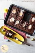 creme egg brownie 01