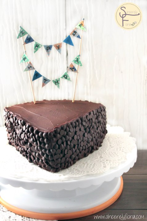 choc blueberry cake 02