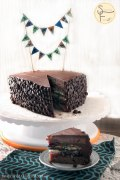 choc blueberry cake 03