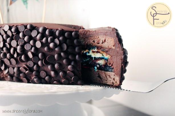choc blueberry cake 07