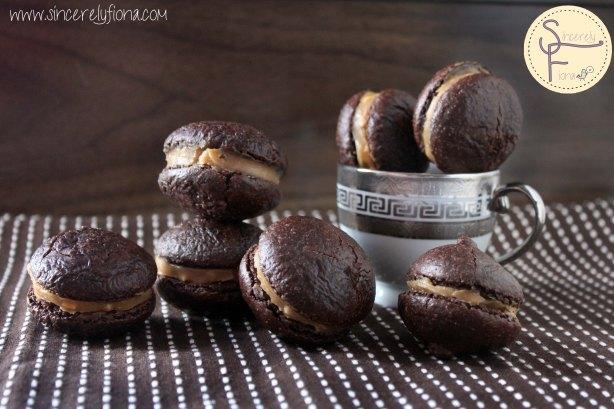 chocolate macaron peanutbutter 06