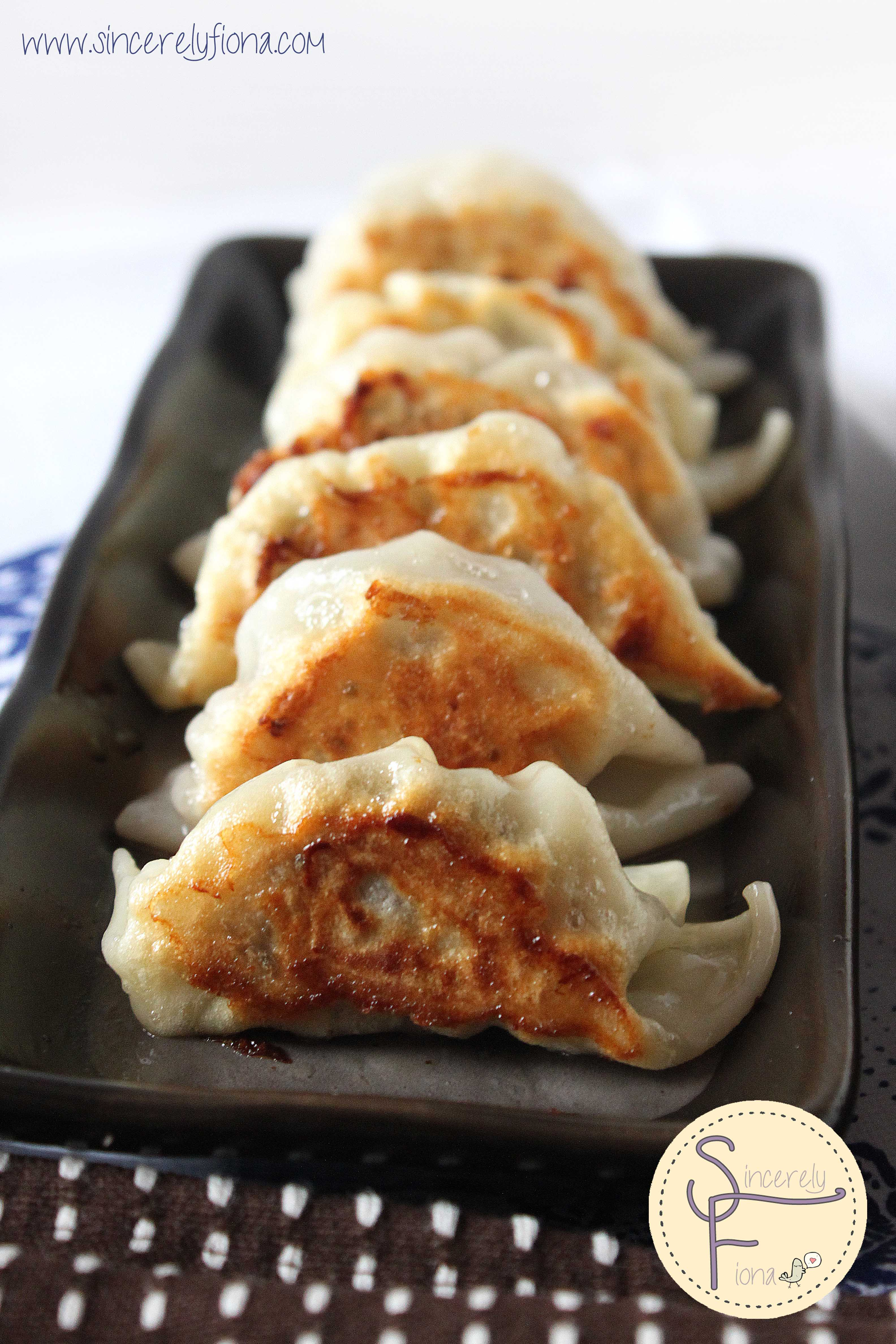 Chilli Pork and Mushroom Gyoza | Sincerely Fiona | Lovin' the homemade