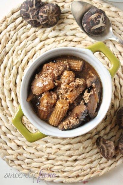 braised fried tofu mushroom 02