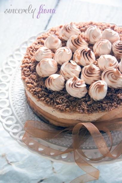 chailatte nutella chessecake with meringue 05
