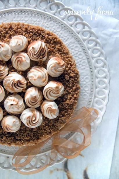 chailatte nutella chessecake with meringue 07