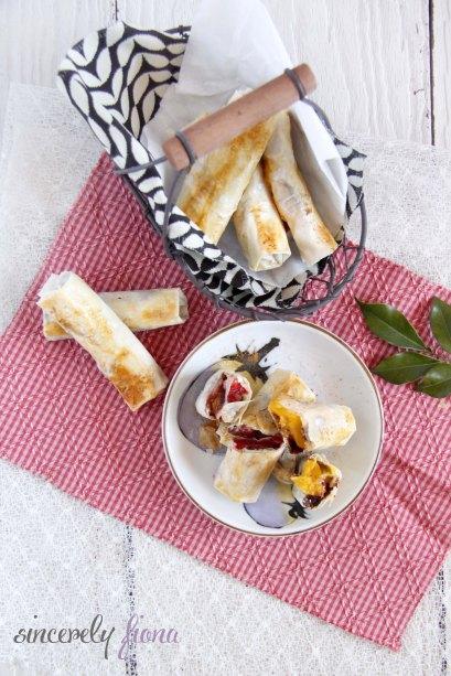 trio fruit nutella spring rolls 04