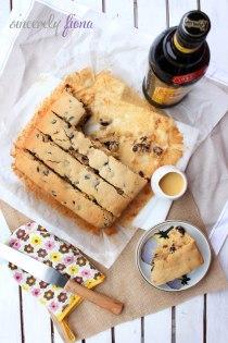 brown butter buttermilk fruity cake
