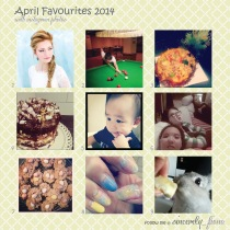 sincerely fiona april favourites