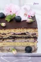 blueberry opera cake