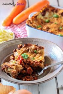 beef mushroom lasagna