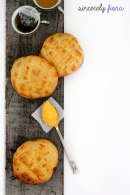 pineapple buns with custard