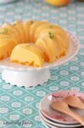 Cantonese mango pudding